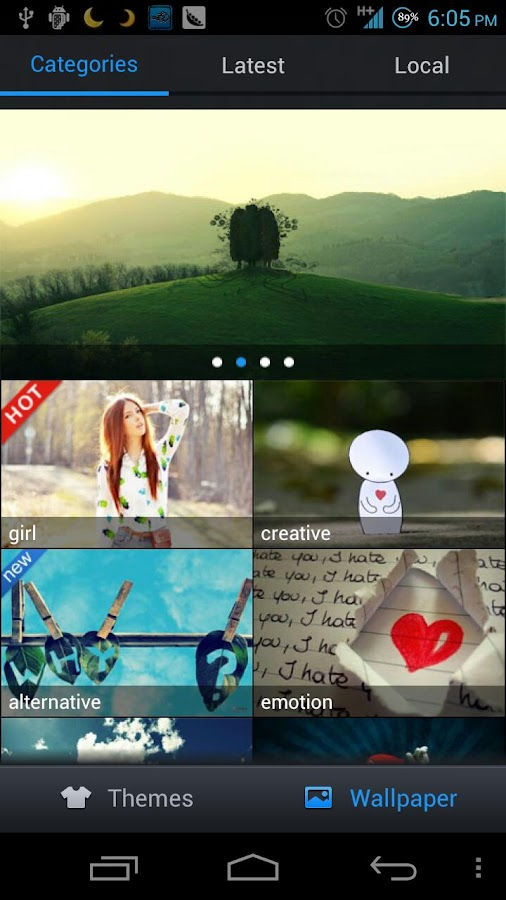 Baidu Launcher - screenshot