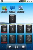 Screenshot of Call Meter 3G: THE monitor app
