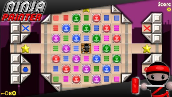 Ninja Painter Puzzle - Free- screenshot thumbnail