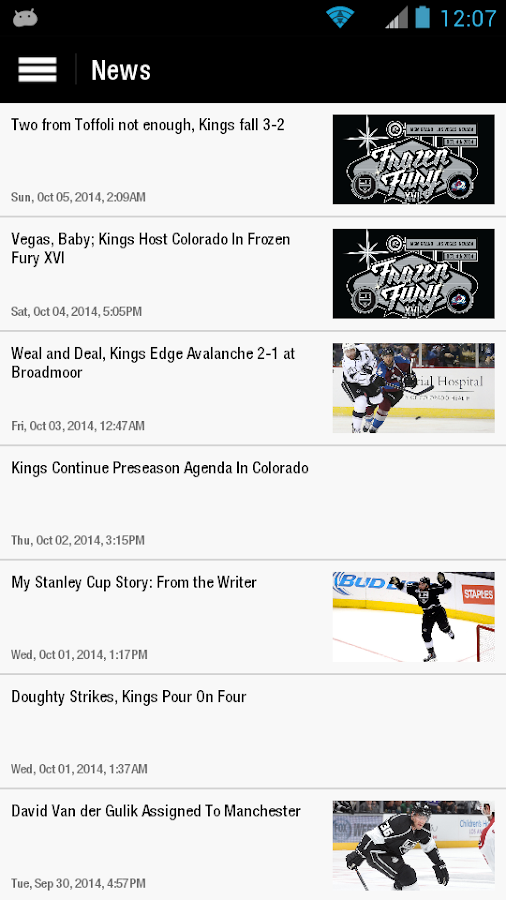 LA Kings - screenshot