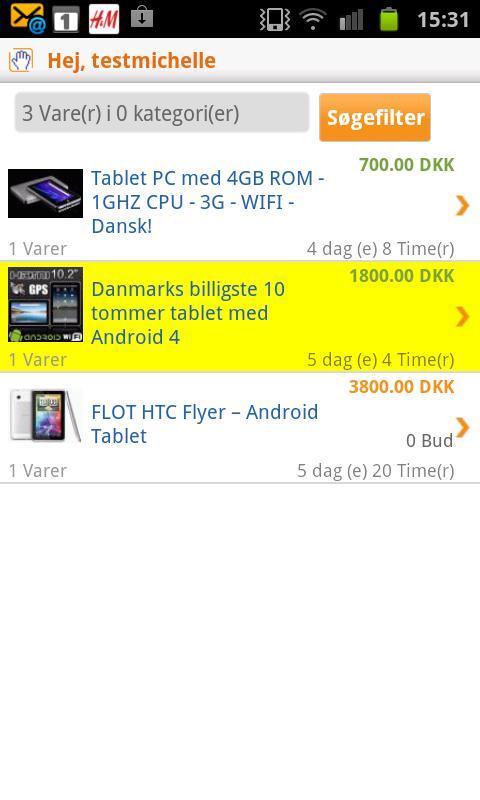 QXL.dk - screenshot