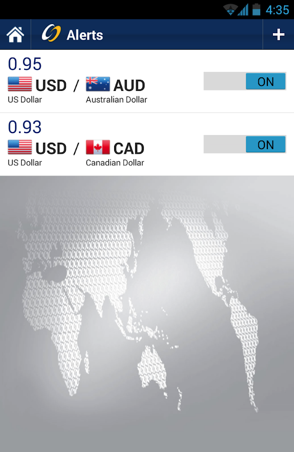 Ozforex currency rates