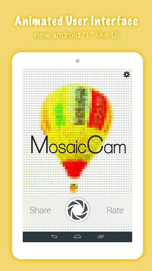 Awesome Photo Mosaic Creator- screenshot