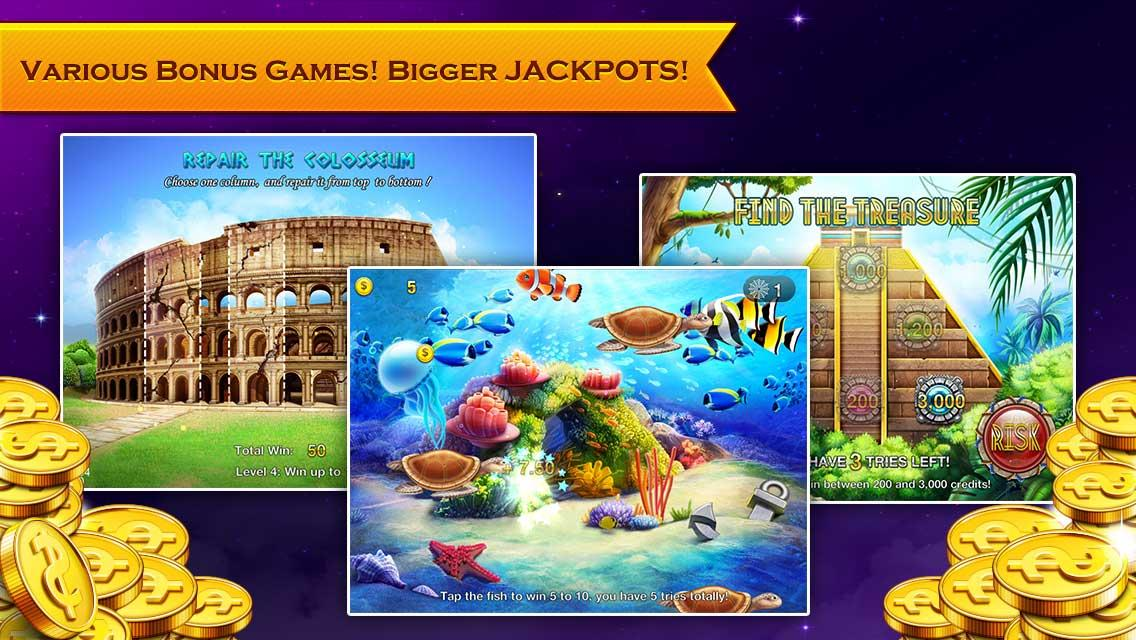 Slots Neverland: slot machines- screenshot