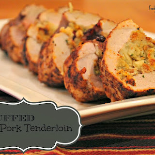 Stuffed Pork Tenderloin.