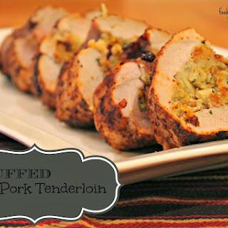 Stuffed Pork Tenderloin.