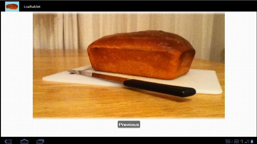 Homemade Bread Recipe- screenshot