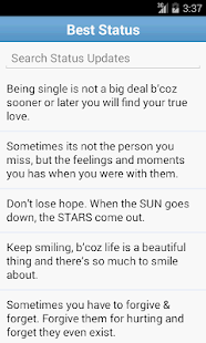Statuses & Quotes Collection!!- screenshot thumbnail