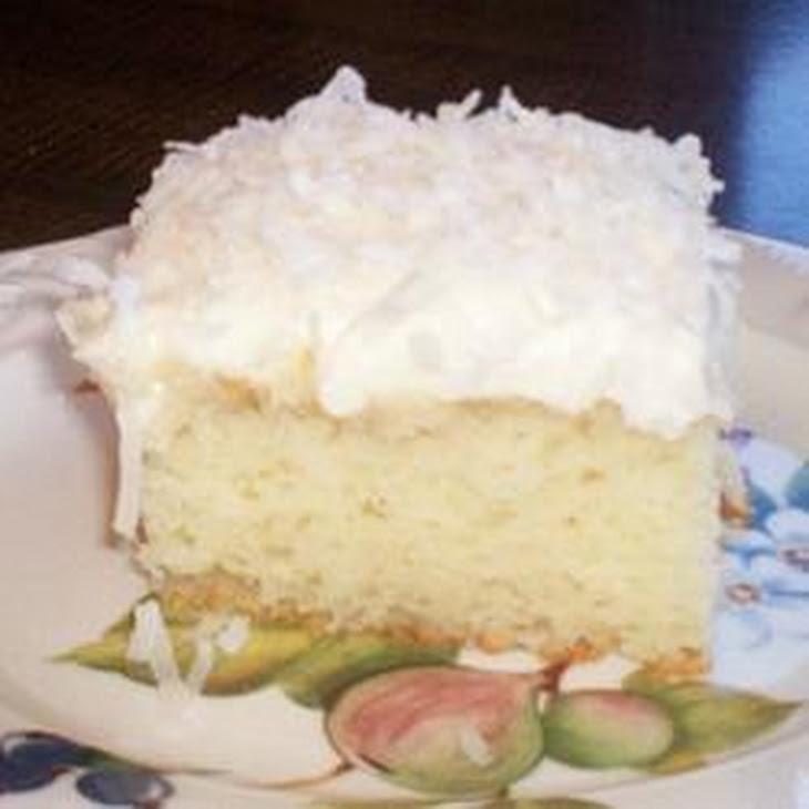 Coconut Cream Cake II Recipe