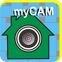 USB webcam remote monitoring icon