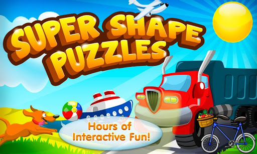 Super Shape Word Puzzle Game