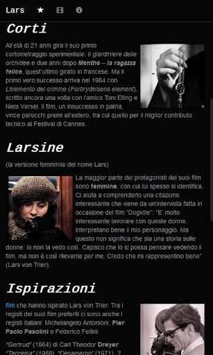 Lars von Trier fans