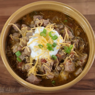 Slow Cooker Green Chili Pork