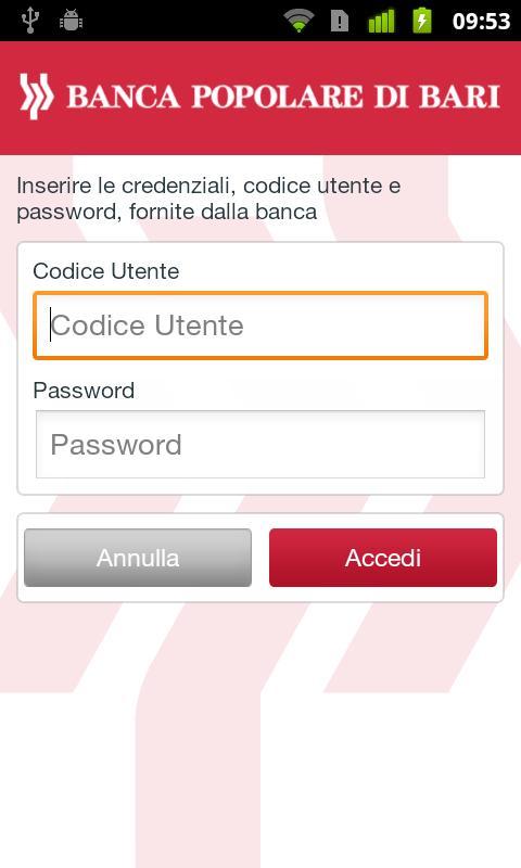 Gruppo Banca Popolare di Bari- screenshot