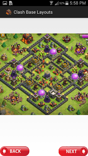 Clash Base Layouts