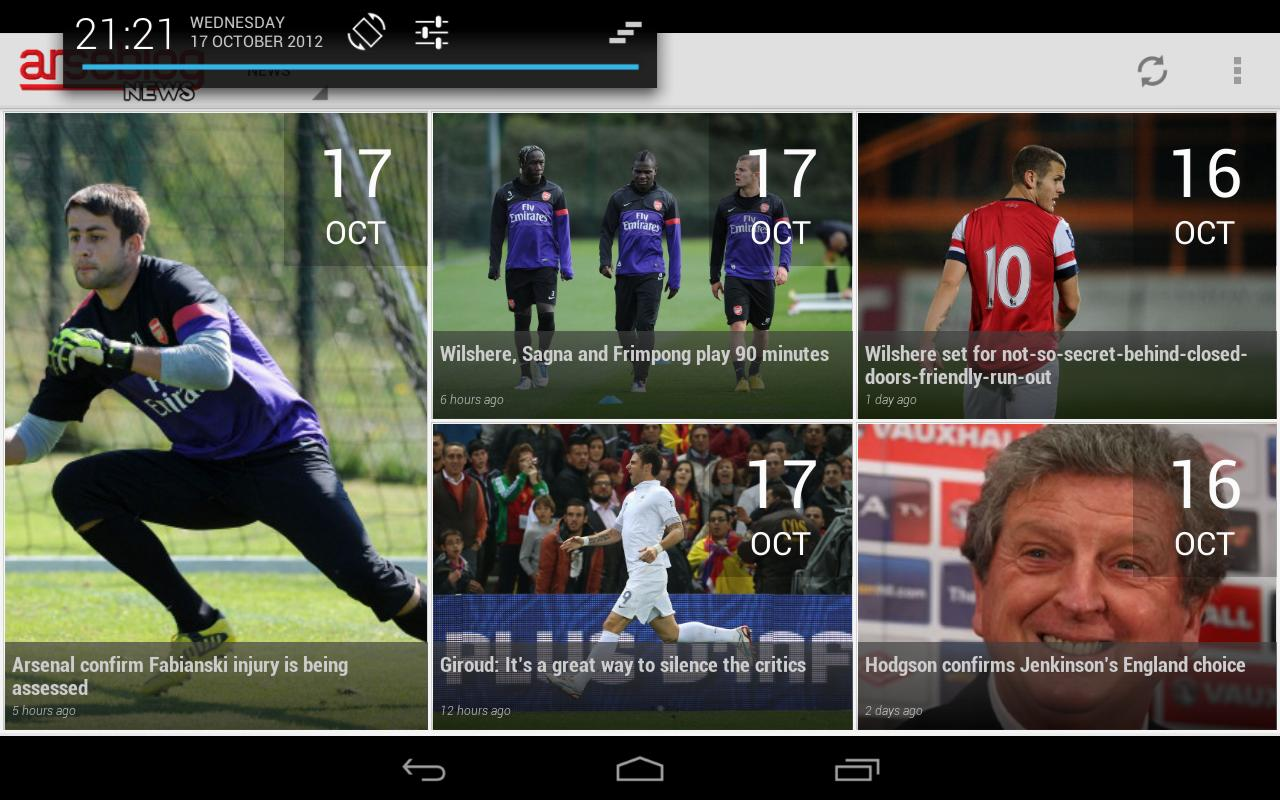 Arseblog (Official) - screenshot