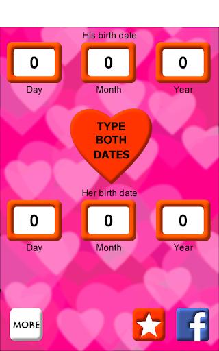 Love Test Dates