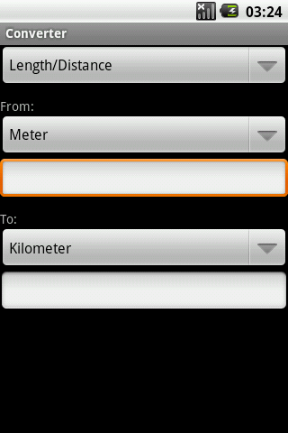Converter - screenshot