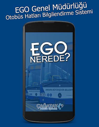 EGO Otobüs Nerede 2014