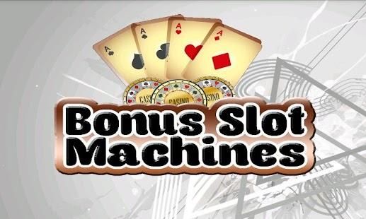Free bounus slot machines lac vieux casino