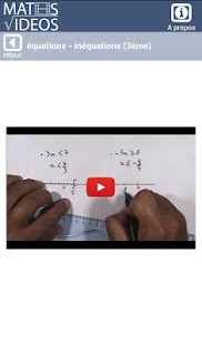 Maths-Videos- screenshot thumbnail