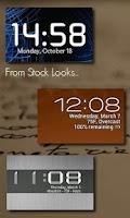 Screenshot of One More Clock Widget