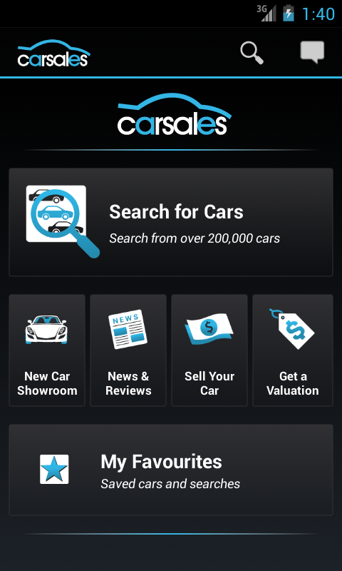 carsales cars easier anywhere else buying selling android makes even tools app than