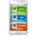 Madrid Metro|Bus|Cercanias icon