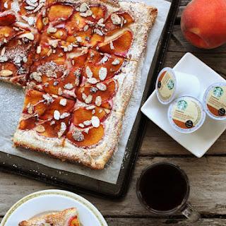 Peach Almond Tart.