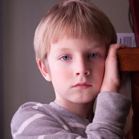 A Boy by Jill French - Babies & Children Child Portraits (  )
