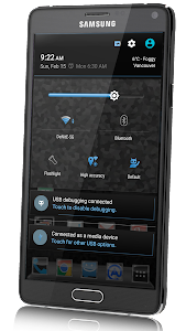 CM12 Theme  - Crystallize Blue v1.2