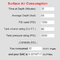 Scuba Surface Air Consumption logo