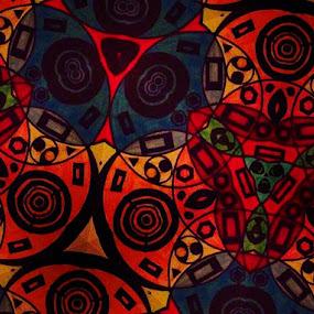 Abstract shapes by Linda Tribuli - Drawing All Drawing ( abstract drawing )