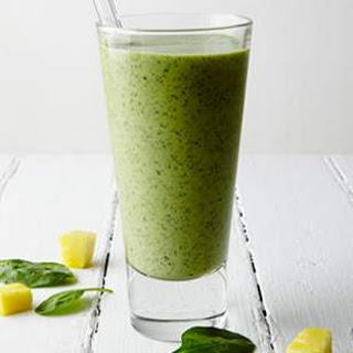 Pineapple Green Smoothie.