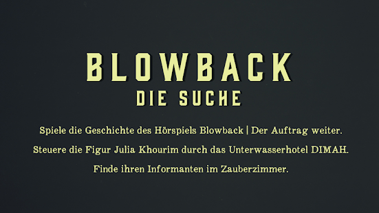 Blowback- screenshot thumbnail