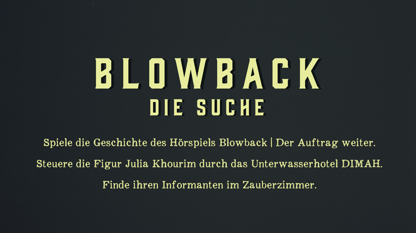 Blowback- screenshot