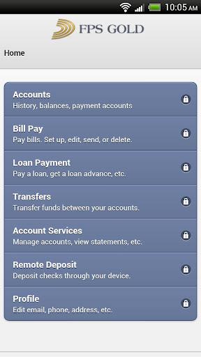 FPS GOLD Mobile Banking Demo