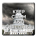 Keep Calm and Furlough icon
