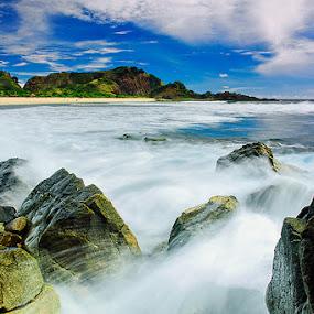 semeti beach by IDewa ZesmaerthaPrabawatma - Landscapes Caves & Formations