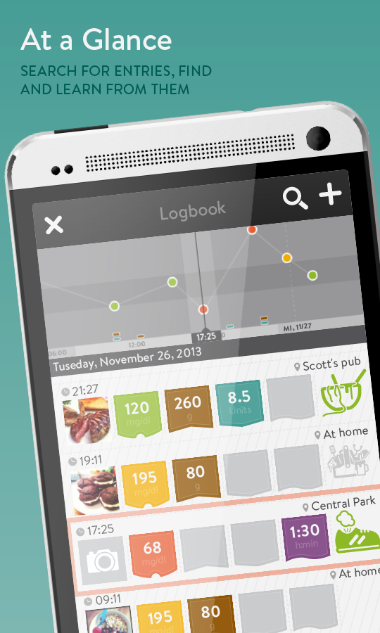 Diabetes Logbook by mySugr - screenshot