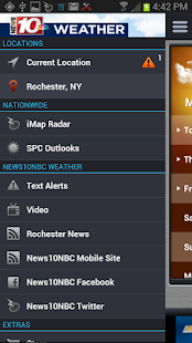 10 Weather WHEC 10NBC - screenshot thumbnail