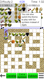 Number Fit Puzzle- screenshot thumbnail