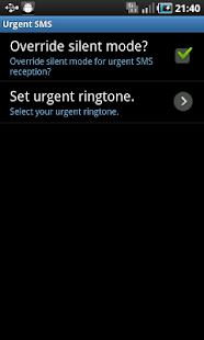 Urgent SMS - screenshot thumbnail