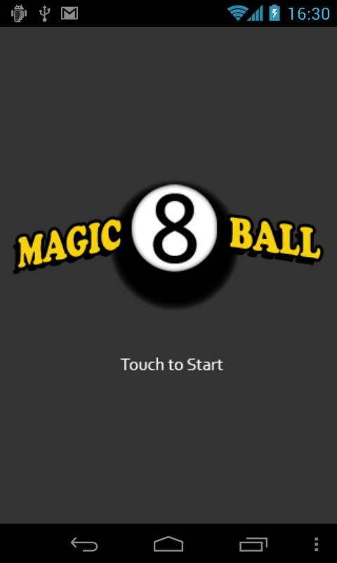 Magic8Ball - screenshot