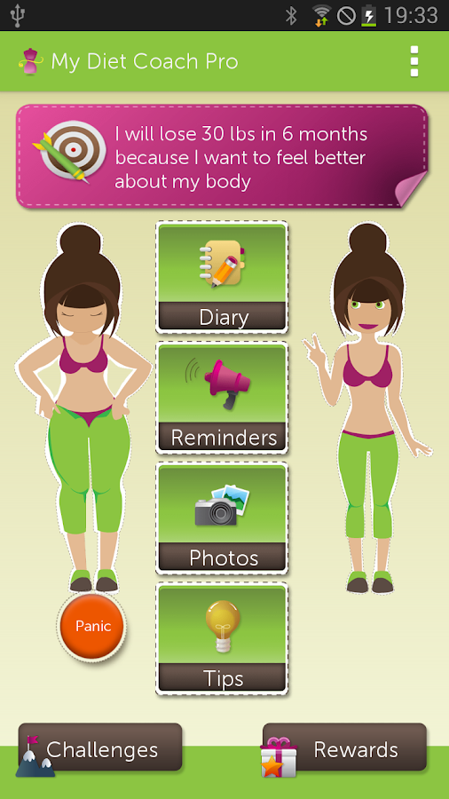 My Diet Coach II - Pro - screenshot