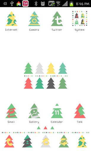 Tree Pattern go launcher theme