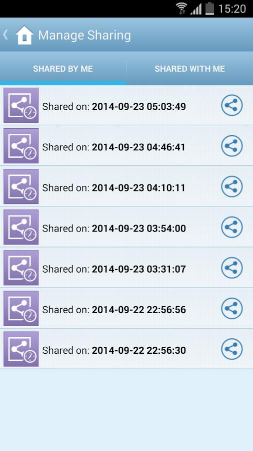 IDrive Online Backup- screenshot
