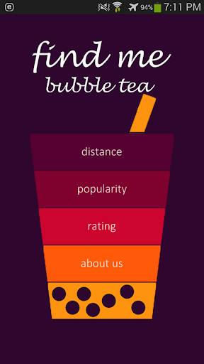 Find Me Bubble Tea