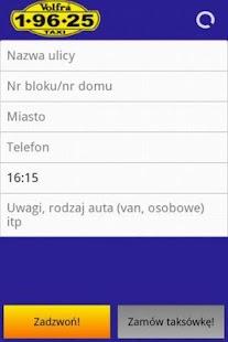 Volfra Taxi Warszawa- screenshot thumbnail