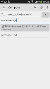 Inbox.lv - screenshot thumbnail